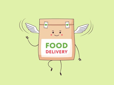 Food Delivery Character