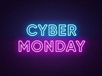 Neon Cyber Monday