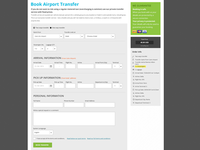 Airport Transfer Booking Form
