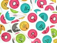 Abracademy Stickers