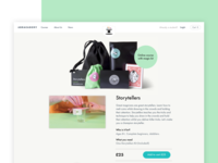 Magical product page iterations