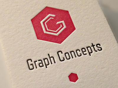 Graph Concepts Business Card business card letterpress emboss crane lettra visual identity branding brand