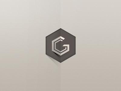 Graph Concepts Logo logo vector identity long shadow gc longshadow branding visual