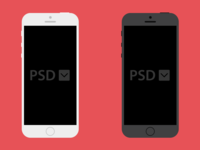 Free iPhone PSD Download