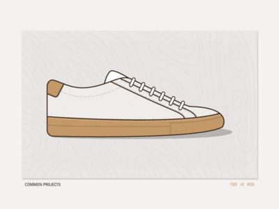 Common Projects shoe sneaker kicks fashion