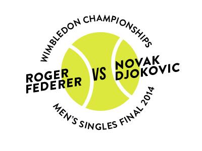 Wimbledon 2014 Final type djokovic typelogo wimbledon2014 federer