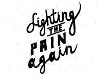 Fighting the pain