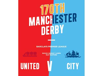 The Manchester Derby manutdreview manutd typography