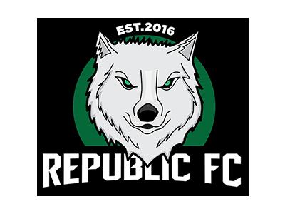 Republic FC logo logo branding sports team logo sports logos