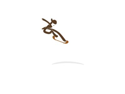 中关村滑板 logo