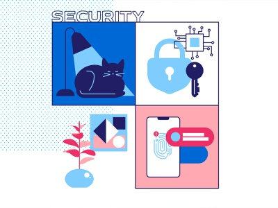 Security security web illustration illustration