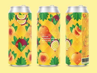 Peach Passion Fruit Sour Ale