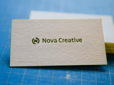 Nova Printed Business Cards
