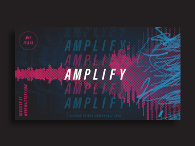 Amplify Conference church bitmap frequency event