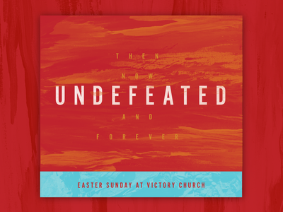 Undefeated Sermon church texture brush easter