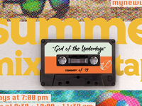 Summer Mixtape Sermon Graphic