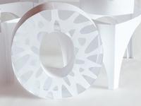 3D Paper Typography
