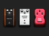 AmpKit Pedals Test Batch 1