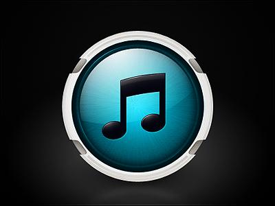 iTunes 10 icon + PSD