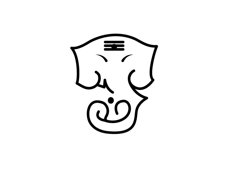 Ganesh Tamil Word Om By Archana Aravind Dribbble
