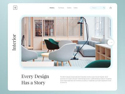 Interior design and furniture shopping website sketch branding interior furniture ecommerce shopify e-commerce shopping website web ux ui design