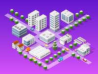 The isometric city