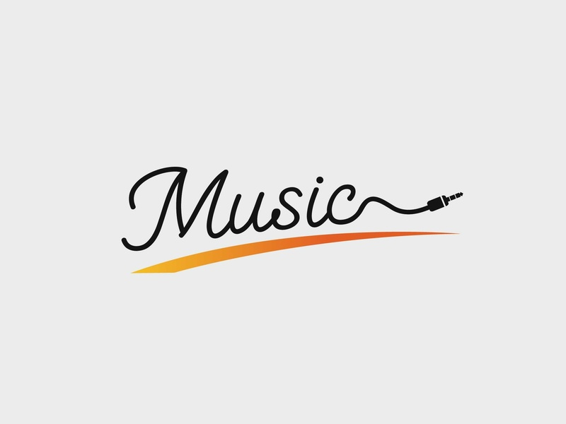 Jeck Music sketch brand character clean lettering website app ux identity branding typography minimal logo icons icon flat vector graphic design design animation