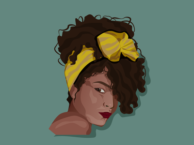 Girl girl character girl illustration woman curly curly hair girl illustration