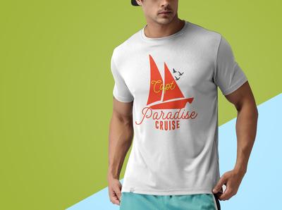 Capt paradise cruise t shirt