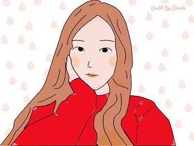 Cuties coloful characterdesign logo cartoons avatar animaton simple fashion flatdesign visual design visual illustrator
