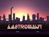 Lastronaut Title Screen