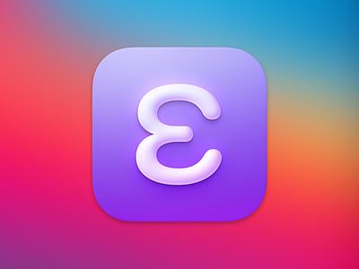 Emacs Icon big sur icon icon design custom emacs ios mac macos big sur icon