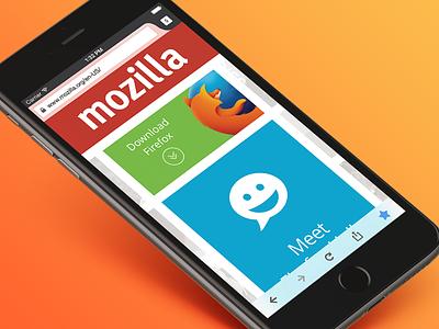 Firefox for iOS Tab View wip