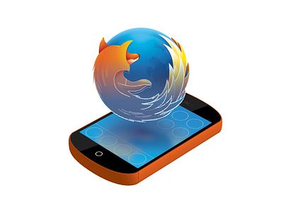 Firefox OS Simulator Icon mobile firefox icon