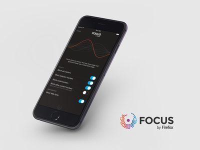Focus by Firefox mobile design design mobile firefox ux ui