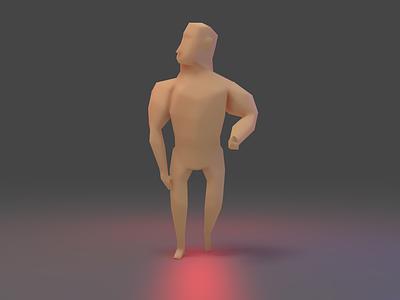 Character Study IV game development 3d modelling character blender