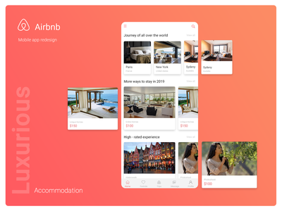 Airbnb mobile application redesign