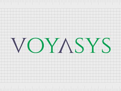 Voyasys.com identity web minimal lettering illustration typography website naming name ideas logo entrepreneurship domain design company name business name branding agency branding brand