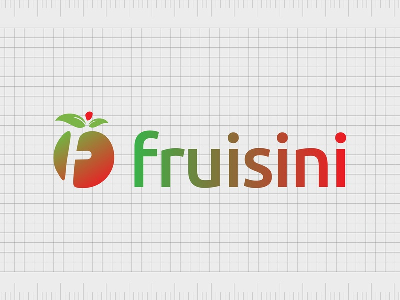 Fruisini.com identity web minimal typography lettering illustration website naming name ideas logo entrepreneurship domain design company name business name branding agency branding brand