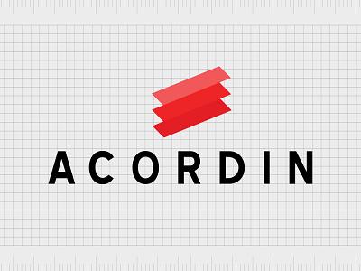 Acordin.com identity web minimal lettering illustration typography website naming name ideas logo entrepreneurship domain design company name business name branding agency branding brand