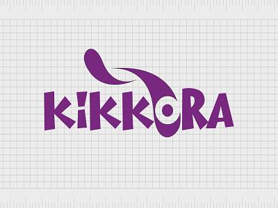 Kikkora.com web identity minimal lettering illustration typography website naming name ideas logo entrepreneurship domain design company name business name branding agency branding brand