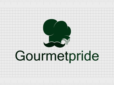Gourmetpride.com identity web minimal lettering illustration typography website naming name ideas logo entrepreneurship domain design company name business name branding agency branding brand