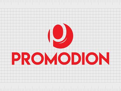 Promodion.com identity web minimal lettering illustration typography website naming name ideas logo entrepreneurship domain design company name business name branding agency branding brand