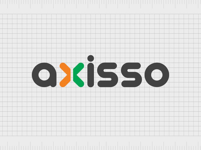 Axisso.com identity web minimal lettering illustration typography website naming name ideas logo entrepreneurship domain design company name business name branding agency branding brand