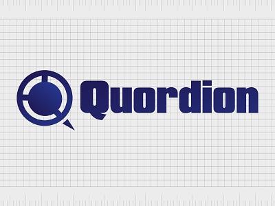 Quordion.com identity web minimal lettering illustration typography website naming name ideas logo entrepreneurship domain design company name business name branding agency branding brand