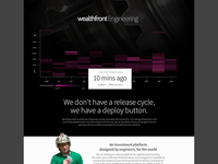Wealthfront Engineering Page