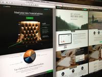 Wealthfront Home Page Comps