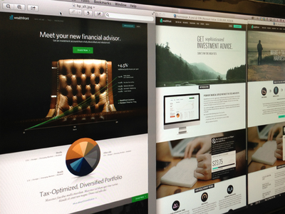 Wealthfront Home Page Comps wealthfront home page classy
