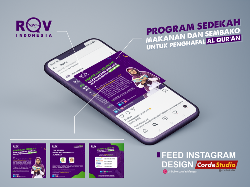 Feed Instagram - RQV Indonesia
