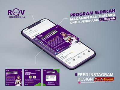 Feed Instagram - RQV Indonesia design religion desain instagram post feeds